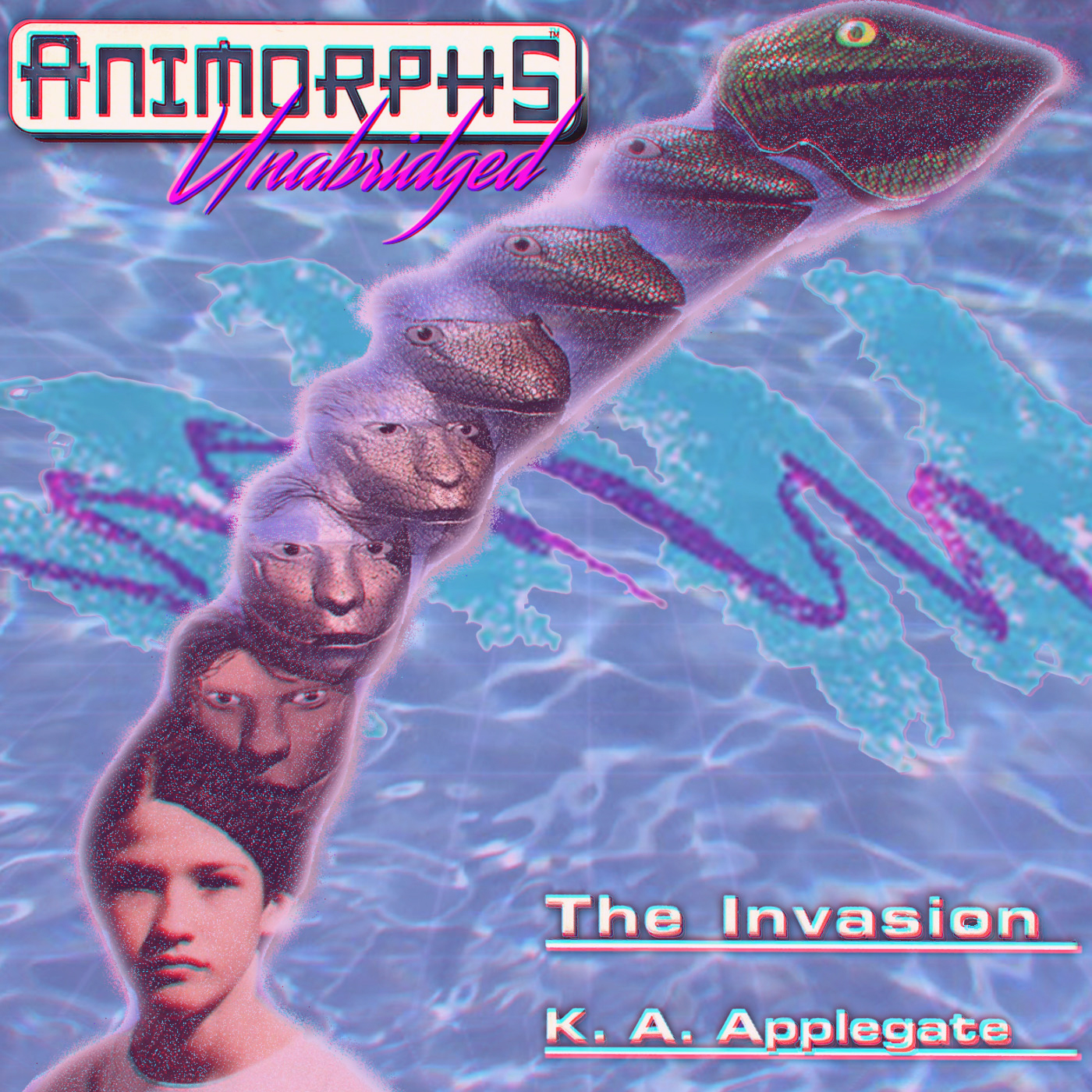 logo for Animorphs Unabridged